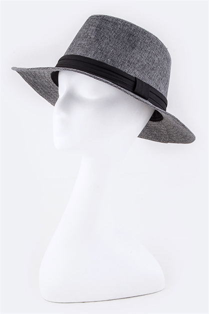Cotton Blend Fashion Fedora - orangeshine.com
