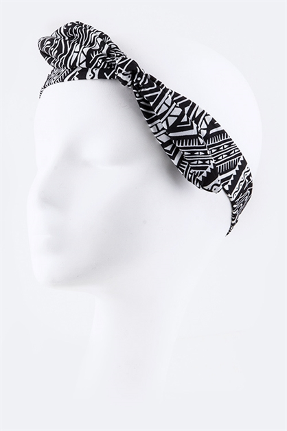Tribal Stretch Headband - orangeshine.com
