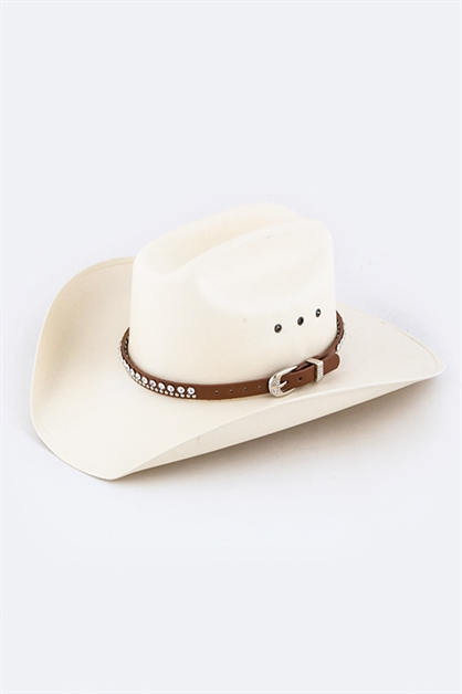 Crystal Studded Hat Band - orangeshine.com