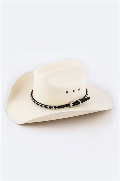 Crystal Western Hat Band - orangeshine.com