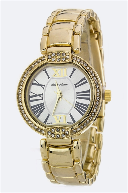 Roman Number Crystal Watch - orangeshine.com