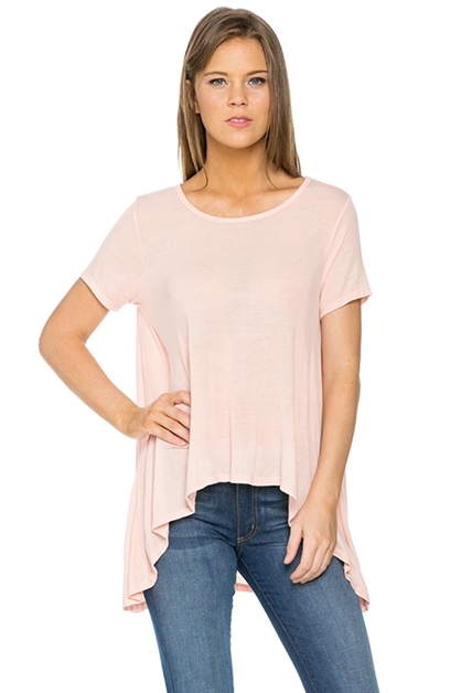 Oversized High-low Knit Top - orangeshine.com