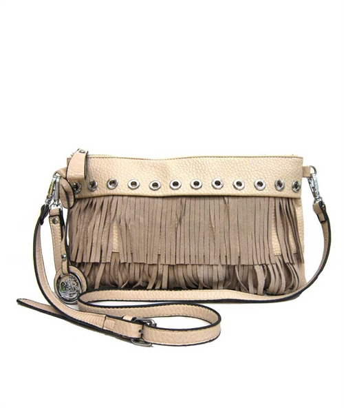 Leather Fringe Cross Body - orangeshine.com
