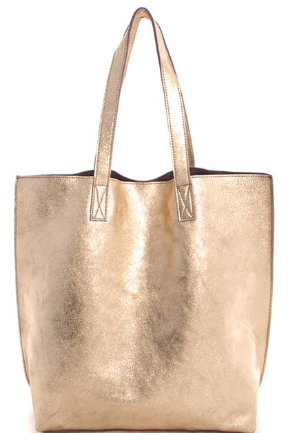 Street Chi Real Leather Tote - orangeshine.com