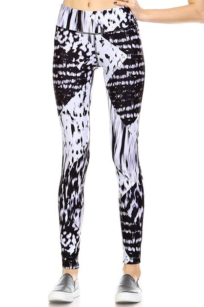 MULTI PRINT LEGGINGS - orangeshine.com