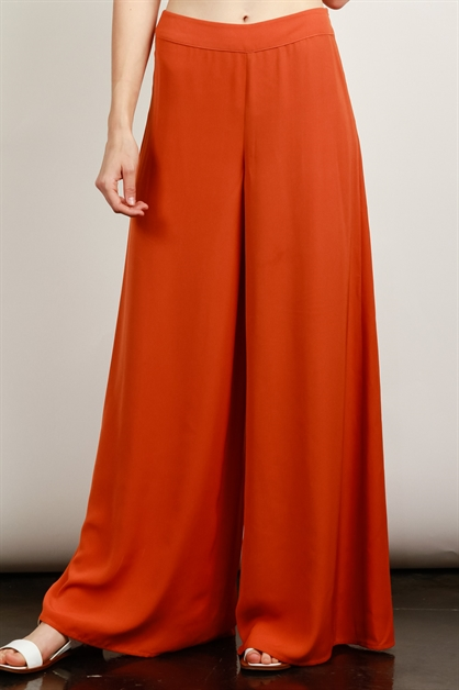 WIDE-LEG TROUSERS PANTS - orangeshine.com