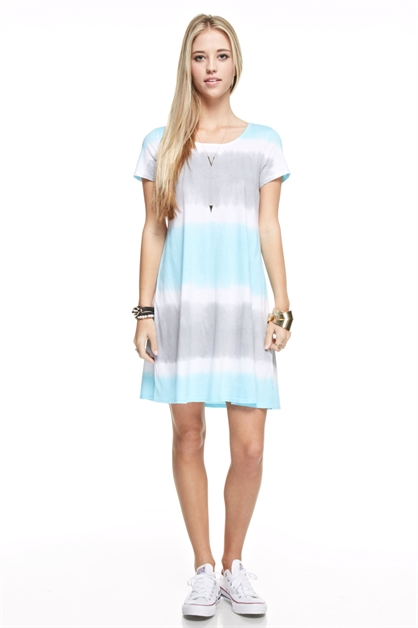 Tie Dyed Dress - orangeshine.com
