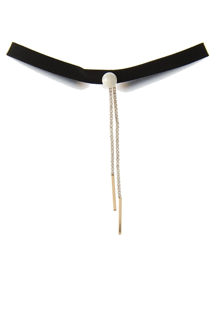 PEARL CHOKER NECKLACE - orangeshine.com