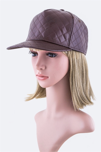 Quilted Fashion Cap - orangeshine.com