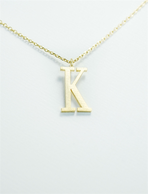 Initial Necklace - orangeshine.com