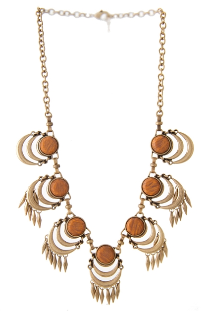 BOHO STYLE DROP NECKLACE - orangeshine.com