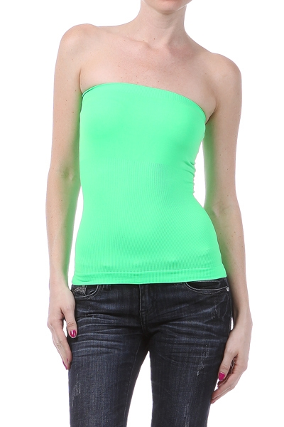 STRAPLESS TOP - orangeshine.com