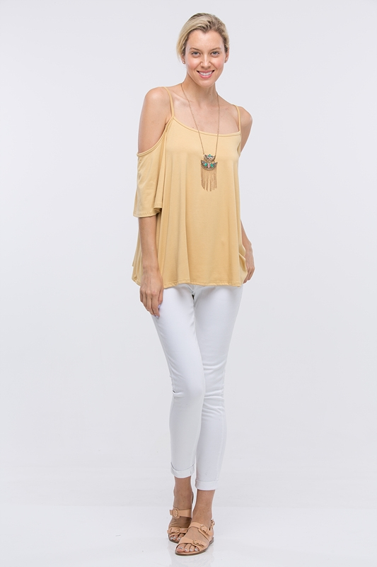 STRAP DETAIL TUNIC TOP - orangeshine.com