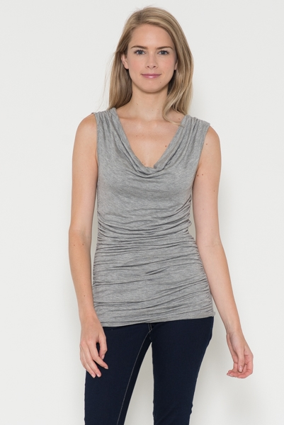 Cowl Neck Top - orangeshine.com