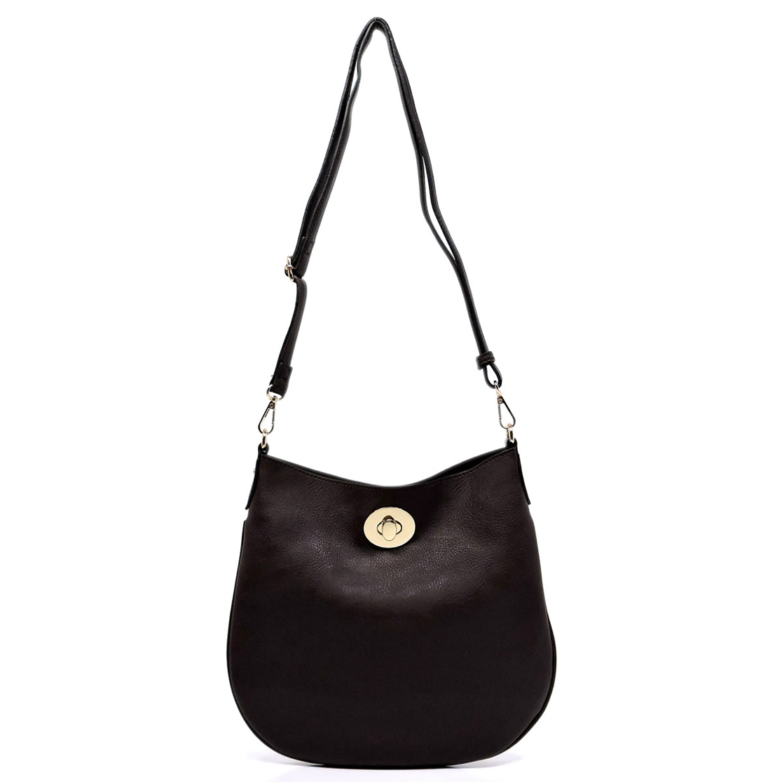 Twist Lock 2-in-1 Shoulder Bag - orangeshine.com
