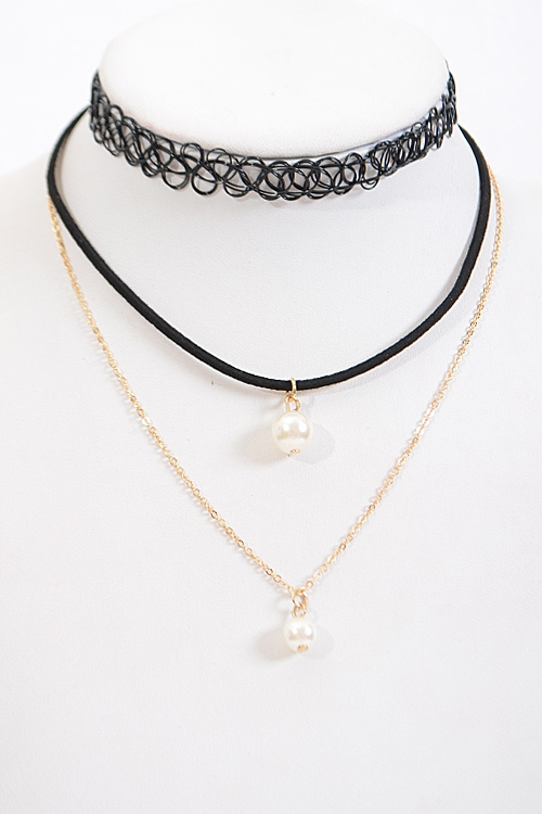 Multi Layered Choker - orangeshine.com