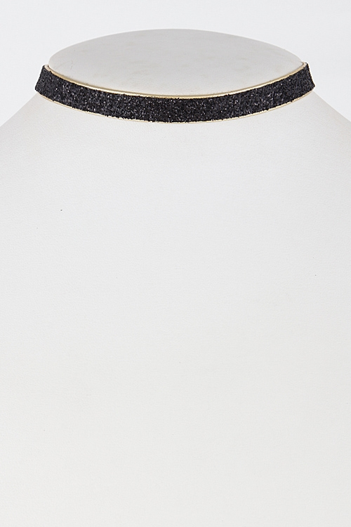 Simple Eye Catcher Choker - orangeshine.com