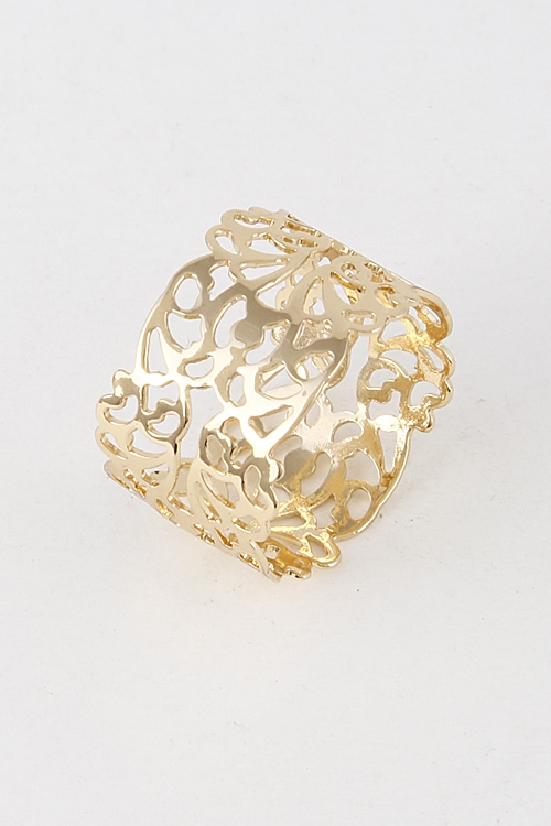 Intricate Patterned Ring - orangeshine.com