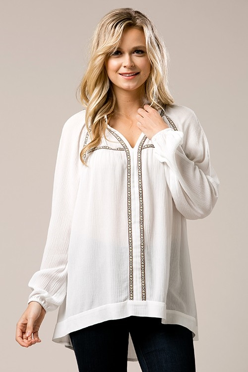 Tunic Blouse - orangeshine.com