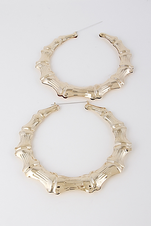 Thin Trendy Hoop Earrings - orangeshine.com