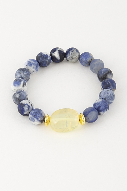 Galaxy Inspired Bead Bracelet - orangeshine.com