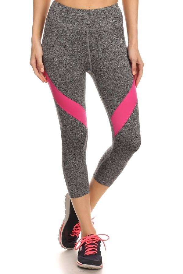 Color Block Active leggings - orangeshine.com