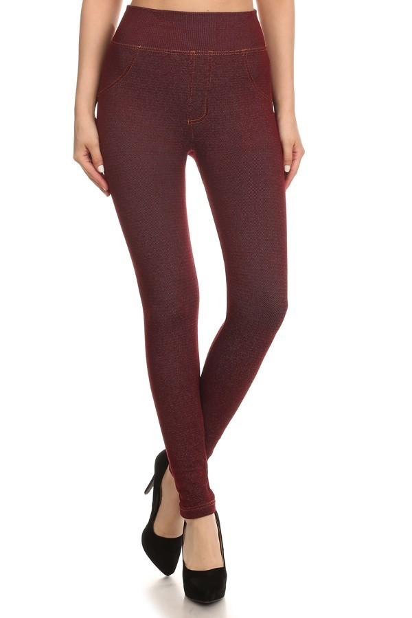 Extremely Stretchy Jeggings  - orangeshine.com