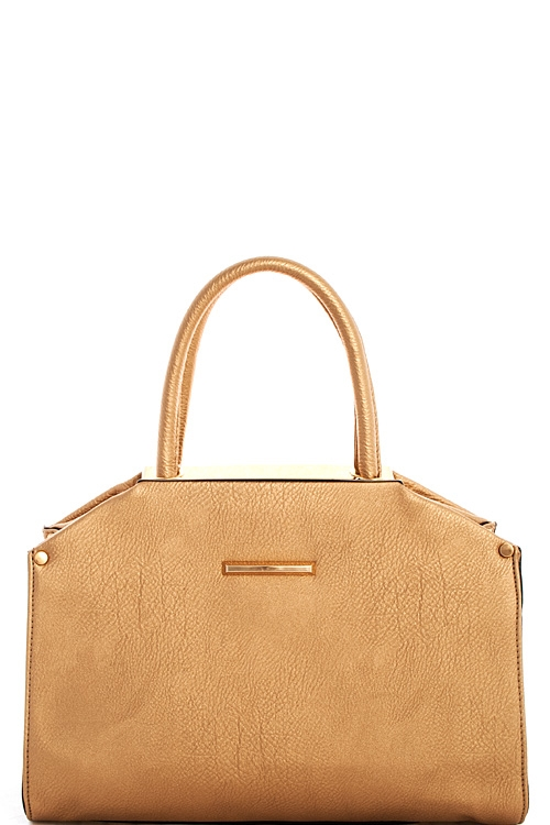 Trendy Fashion Satchel - orangeshine.com