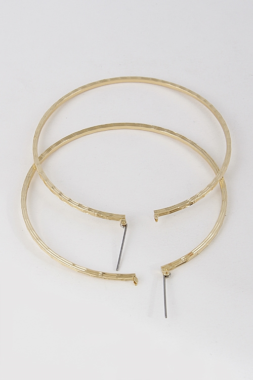 Daily Hoop Earrings - orangeshine.com