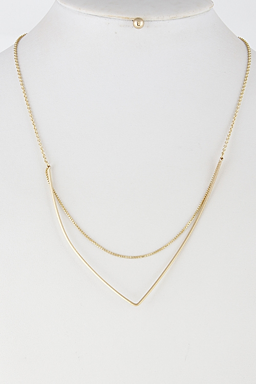 Multi Layered Elegant Necklace - orangeshine.com