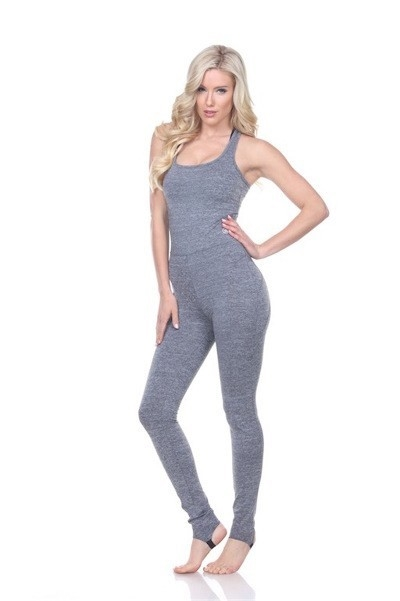Jumpsuit in Melange Grey-6pcs- - orangeshine.com