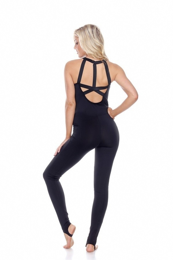 Jumpsuit in Black- 6pcs- - orangeshine.com