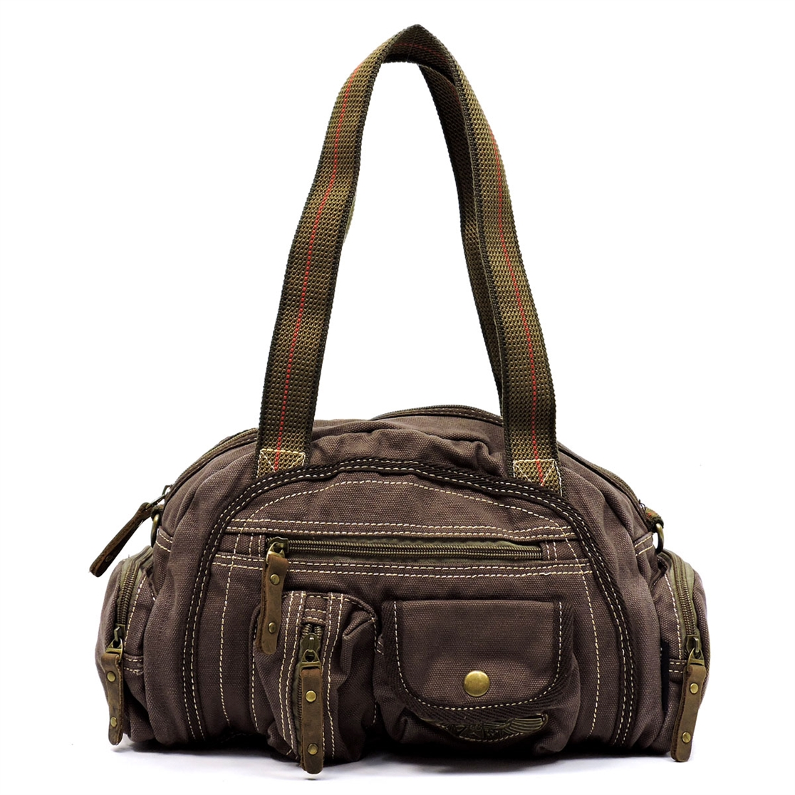 Military Canvas Cute Satchel - orangeshine.com