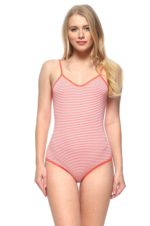 STRIPE BODYSUIT - orangeshine.com