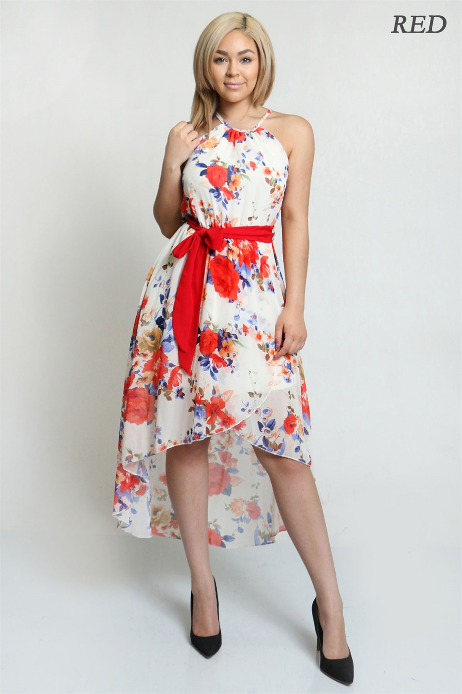 flowy dress - orangeshine.com