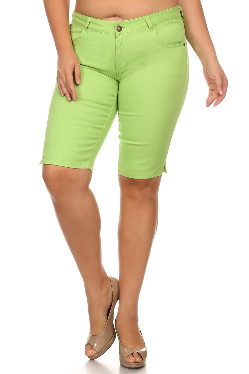 COLOR BERMUDAS COBB-LIME - orangeshine.com