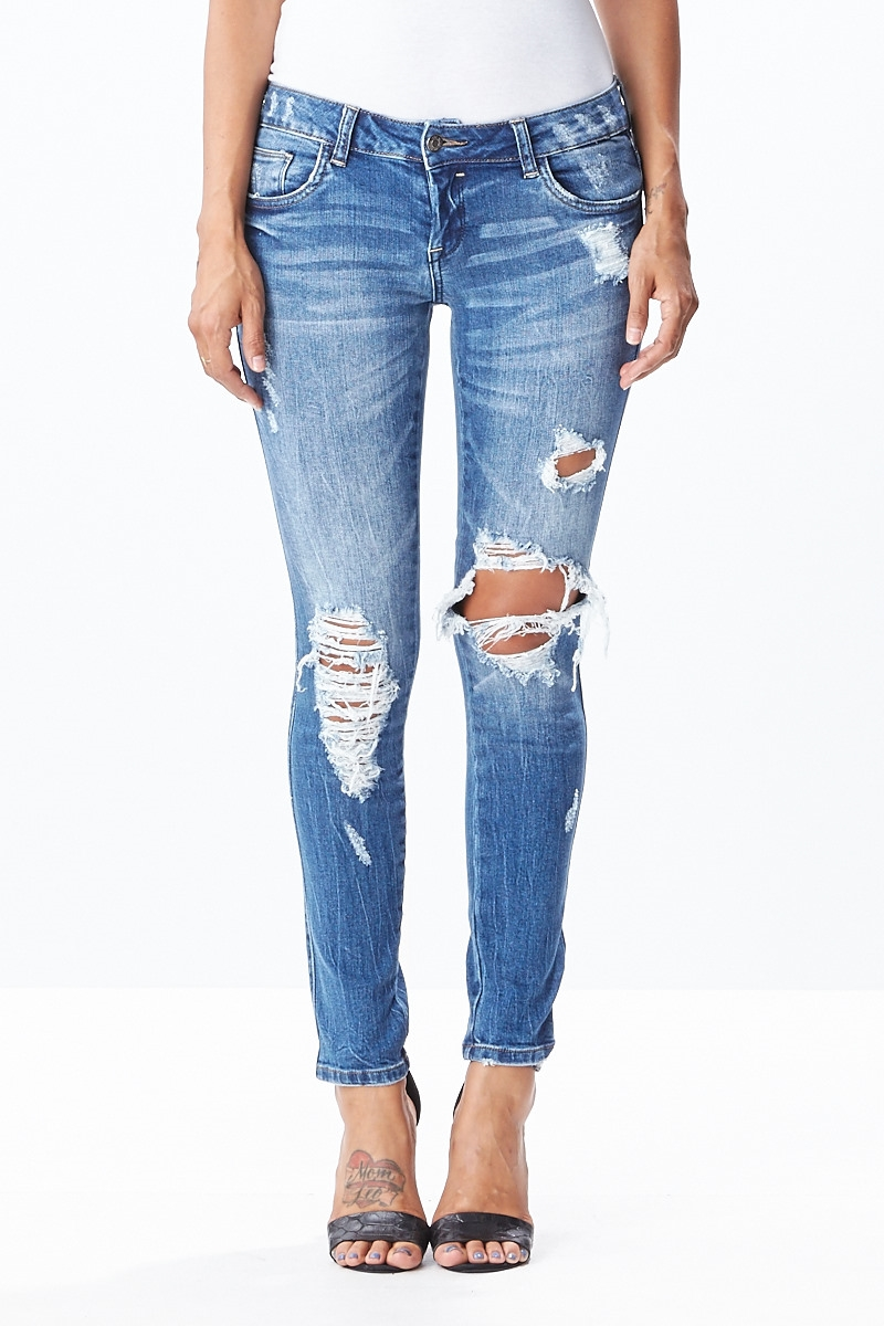 Destroyed Denim - orangeshine.com