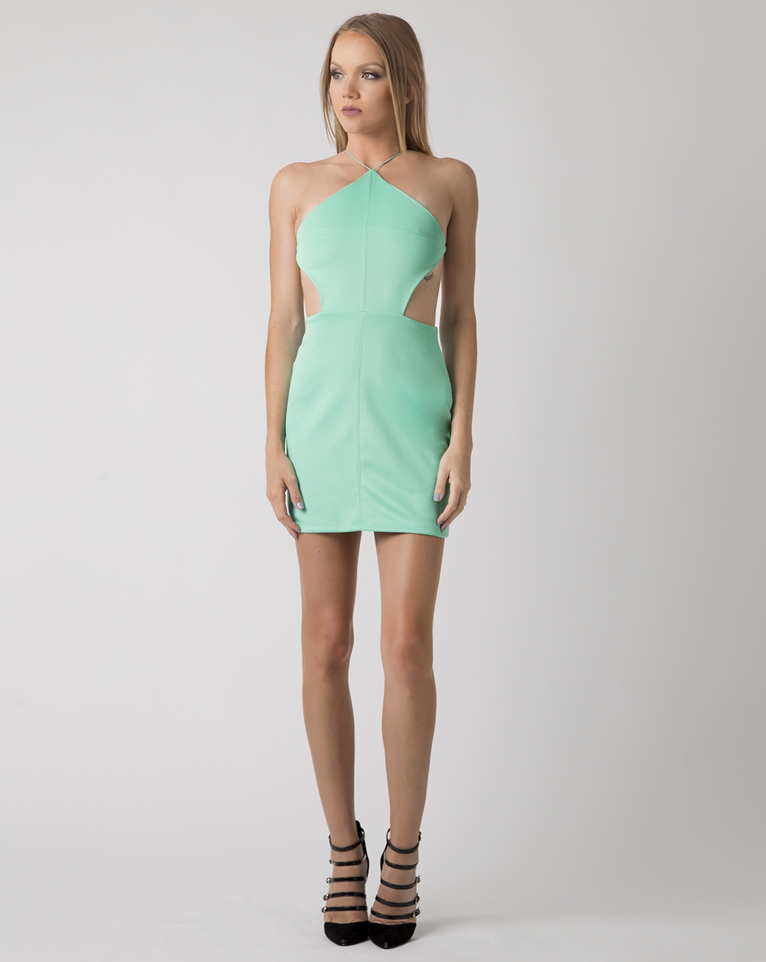 STRAPPY SPADE DRESS - orangeshine.com