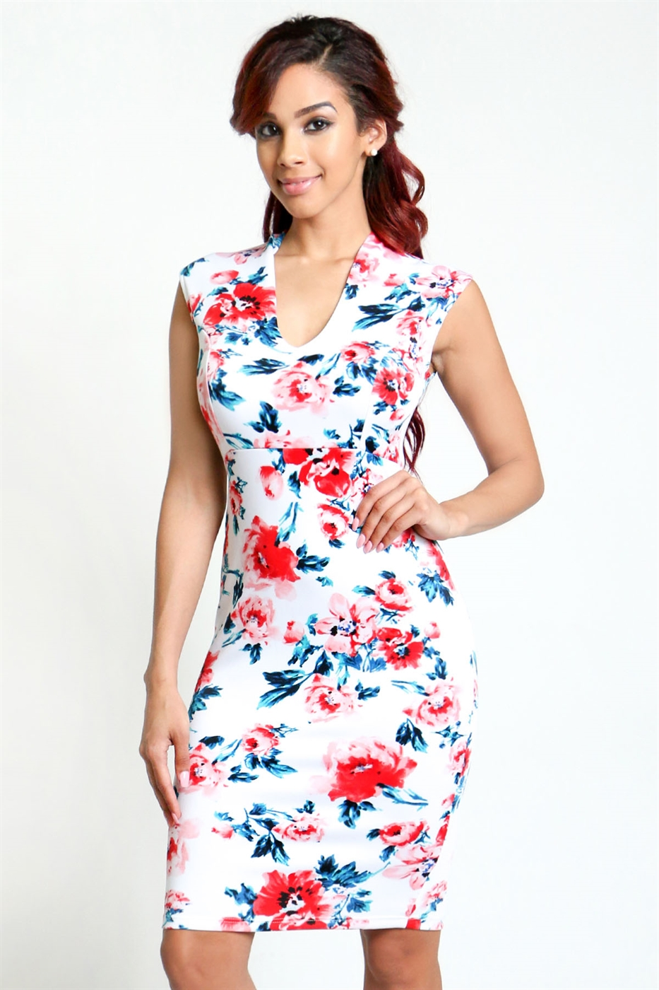 midi bodycon dress - orangeshine.com