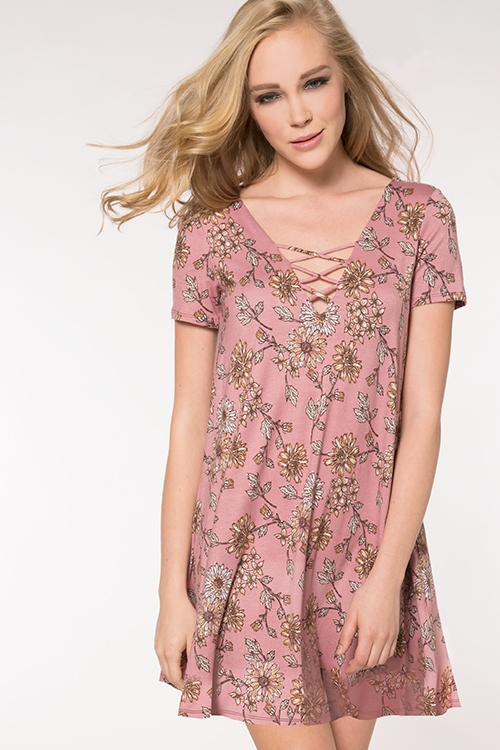 BOHO LATTICE DRESS - orangeshine.com