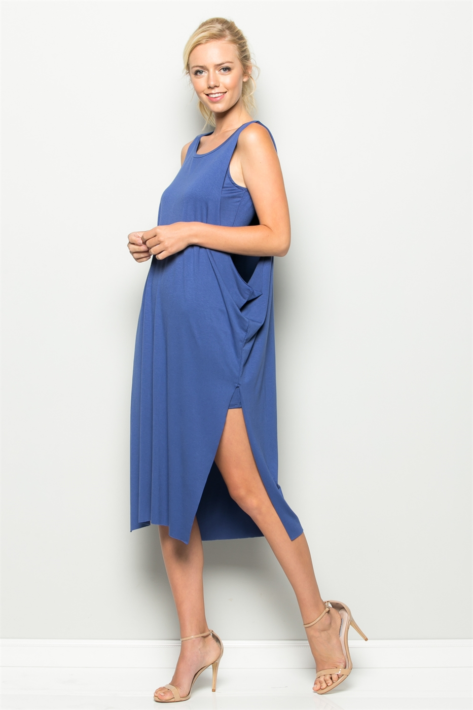 INSET KNEE LENGTH DRESS - orangeshine.com