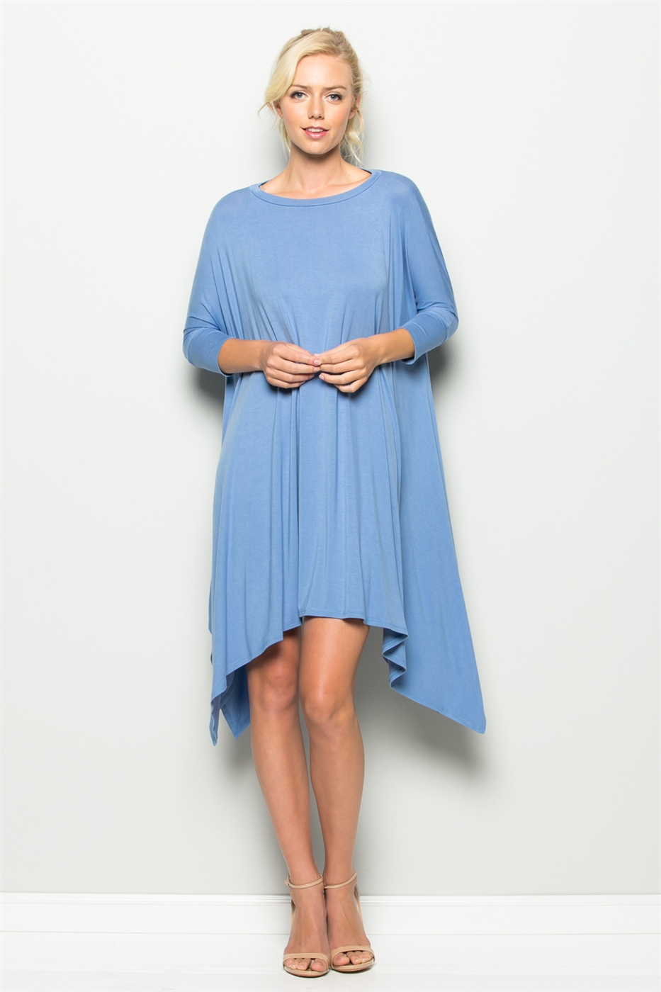 HANKY HEM DRESS - orangeshine.com