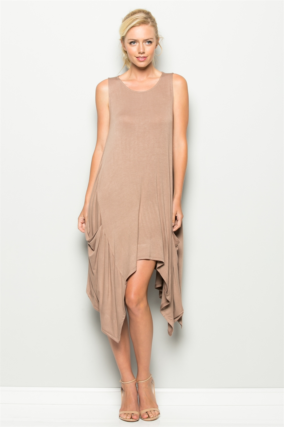 HANKY HEM POCKET DRESS - orangeshine.com