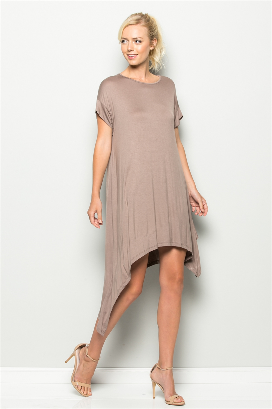 ASYMMETRICAL DRESS - orangeshine.com
