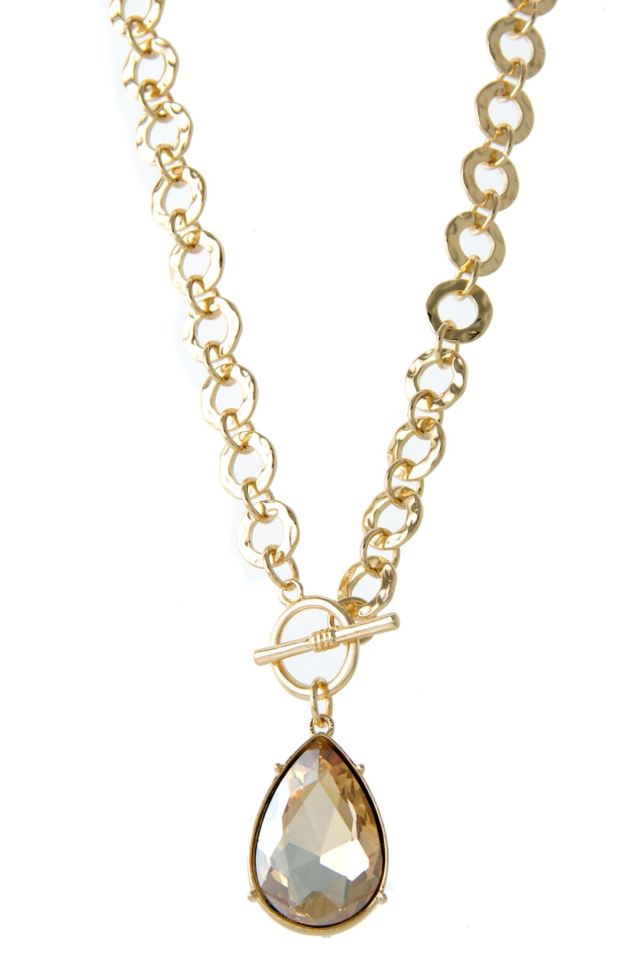 TEARDROP PENDANT NECKLACE - orangeshine.com