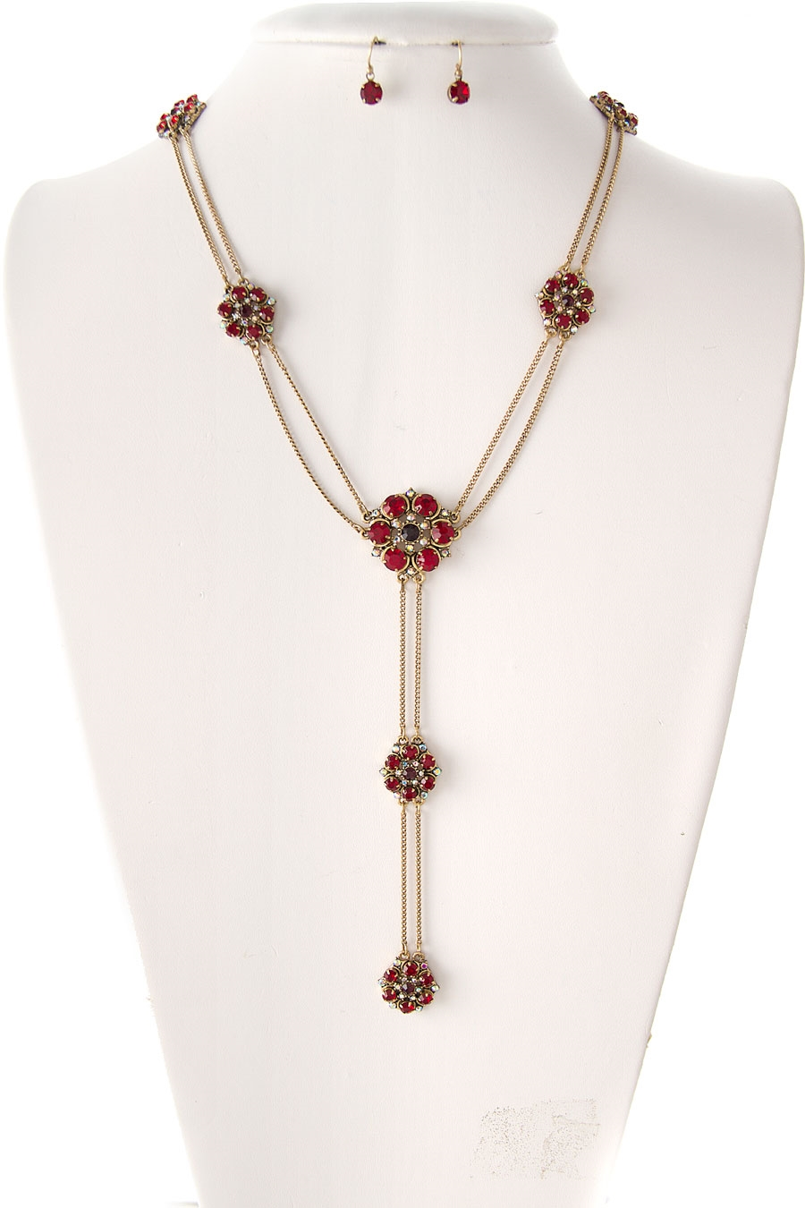 FLOWER STATION NECKLACE SET  - orangeshine.com