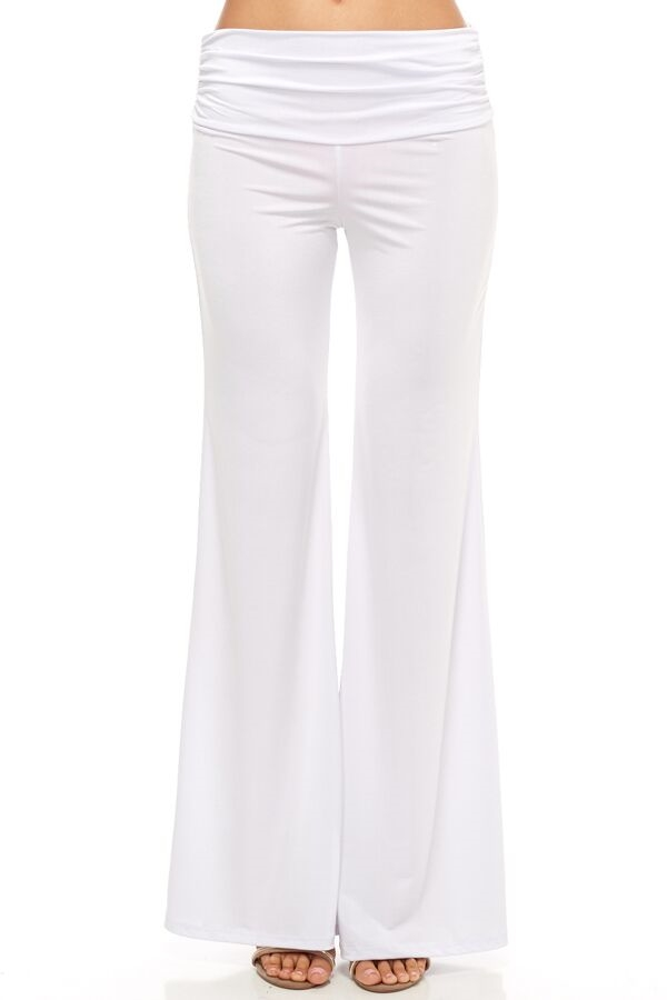 Day Off Palazzo Pants - White - orangeshine.com