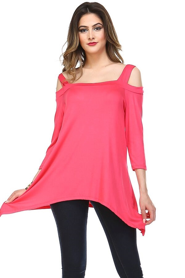 Go with the Flow Tunic - Pink - orangeshine.com