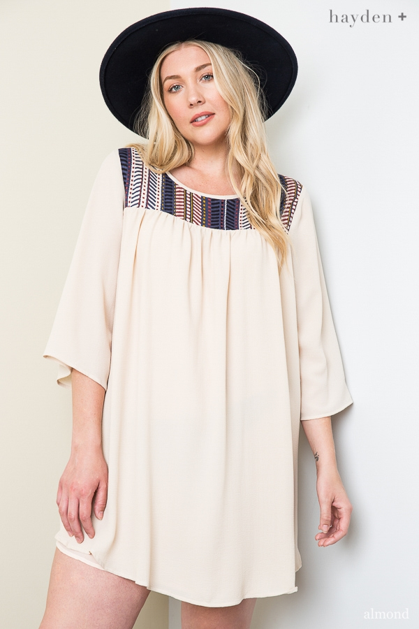 Bell Sleeve Tunic - orangeshine.com