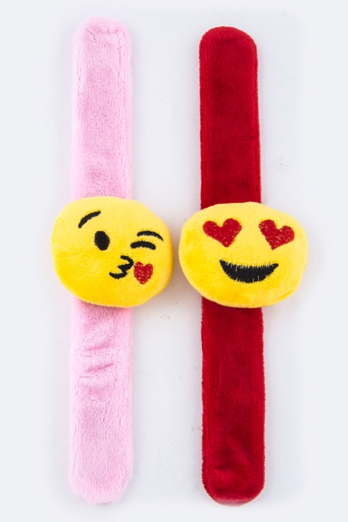 Emoji Iconic Wrist Band - orangeshine.com